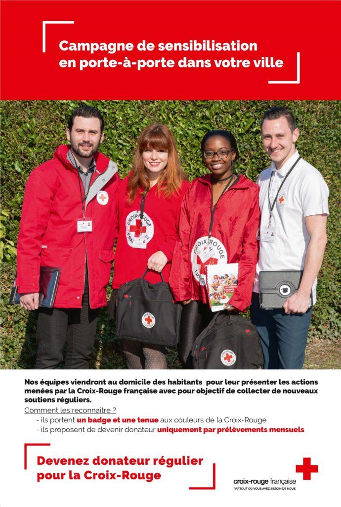 Affiche de la Croix Rouge française 2018