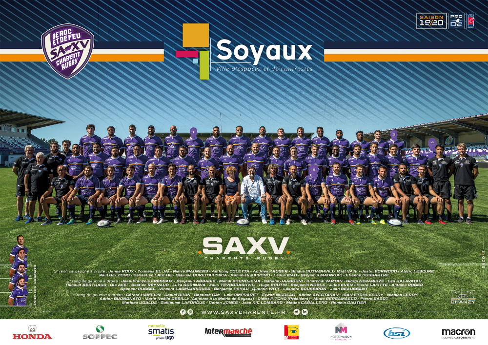 PHOTO OFFICIELLE SAXV - 19-20 - SOYAUX-WEB