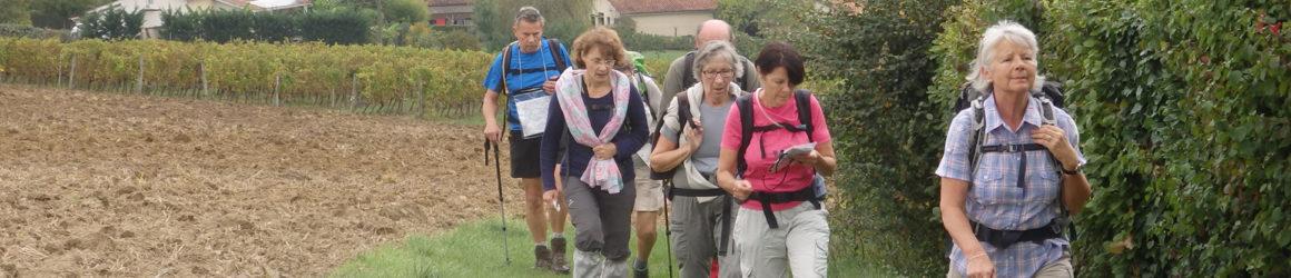 """Marche nordique, randonnée pédestre, rejoignez les """"Godillots de Soyaux"""""""