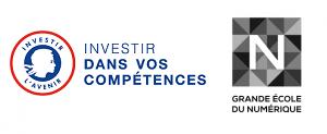 Logo école numérique