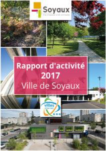 Page de couverture du rapport d'activité 2017