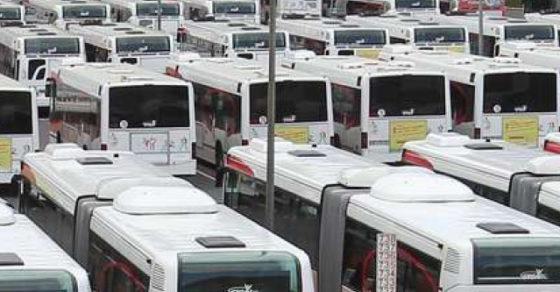 Bus STGA, mouvement de grève