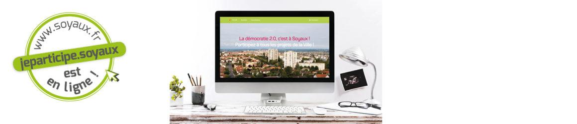 """La plateforme de démocratie locale """"jeparticipe.soyaux"""" est en ligne !"""