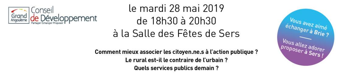 Organisation de la 2e Rencontre Citoyenne Territoriale à Sers !