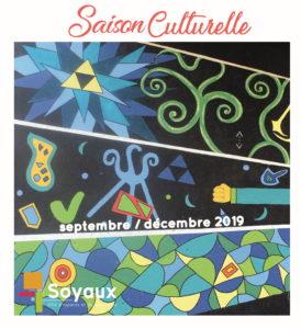 Page de couverture MAQUETTE SAISON CULTURELLE SEPT DEC 2019