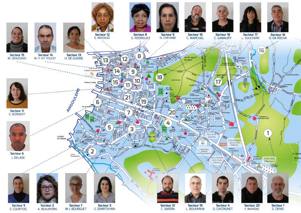 Carte agents recensement 2020