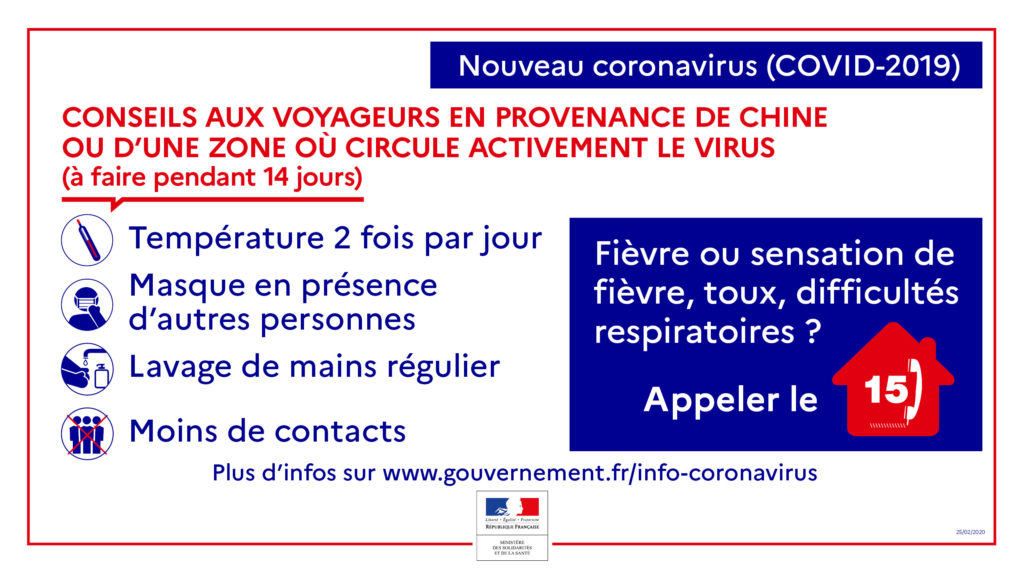Coronavirus voyageurs à l'étranger