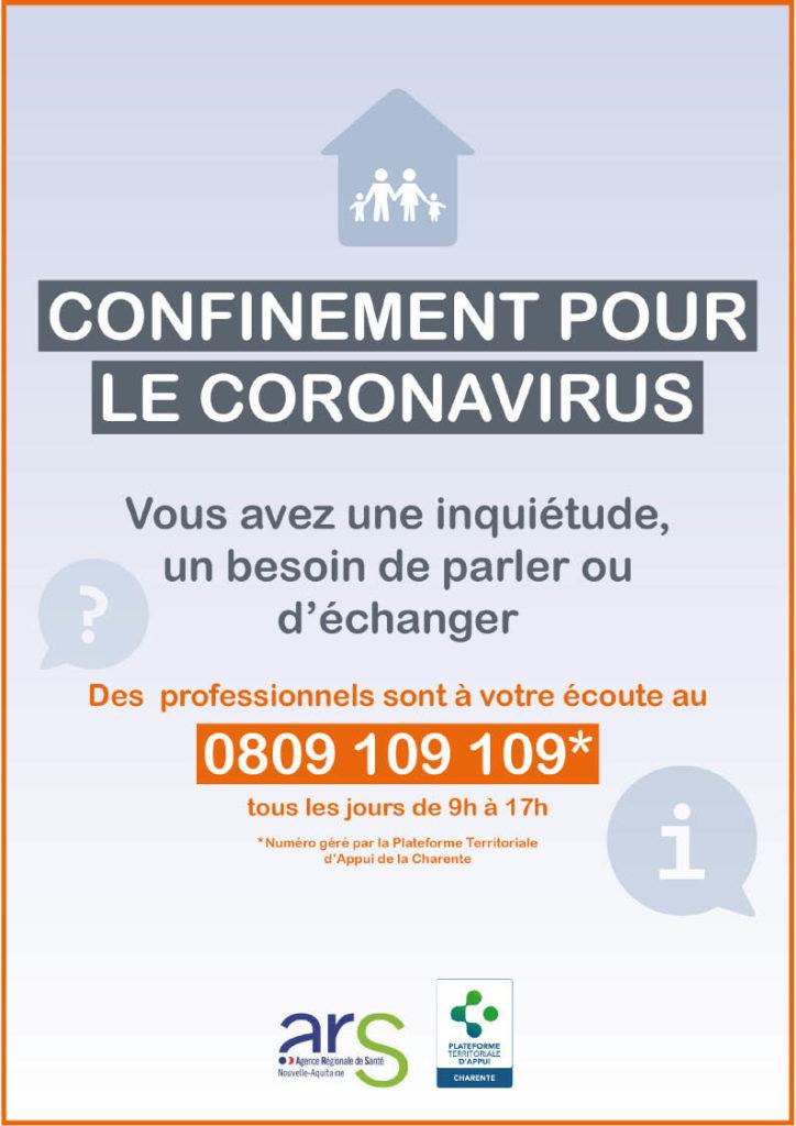 Plateforme de soutien psychologique-COVID-19
