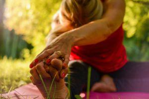 Yoga, étirements