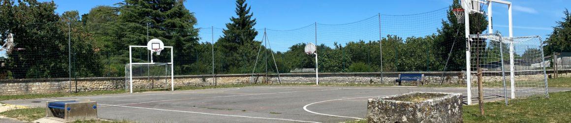 Nouvelle structure de sports à l'école du Bourg