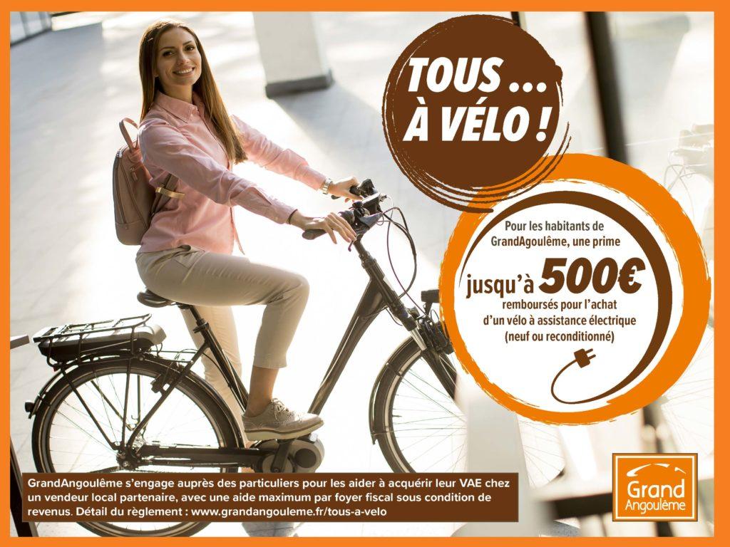 Prime d'aide à l'achat d'un vélo à assistance électrique