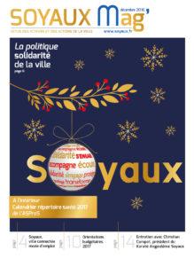 Page de couverture SOYAUX MAG - DECEMBRE 2016