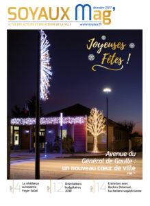 Page de couverture SOYAUX MAG - DECEMBRE 2017