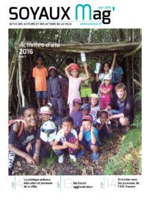 Page de couverture SOYAUX MAG - JUIN 2016