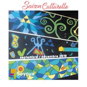 saison culturelle septembre décembre 2019