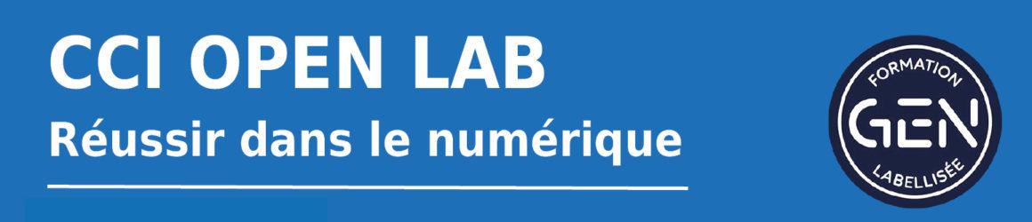 La Grande Ecole du Numérique – CCI Open Lab recrute ses futurs apprentis