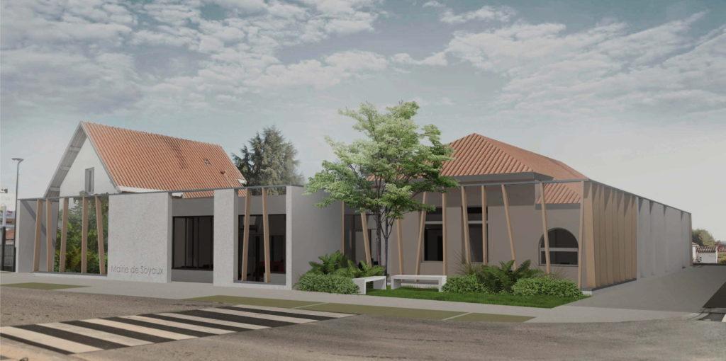 nouvelle mairie 2021