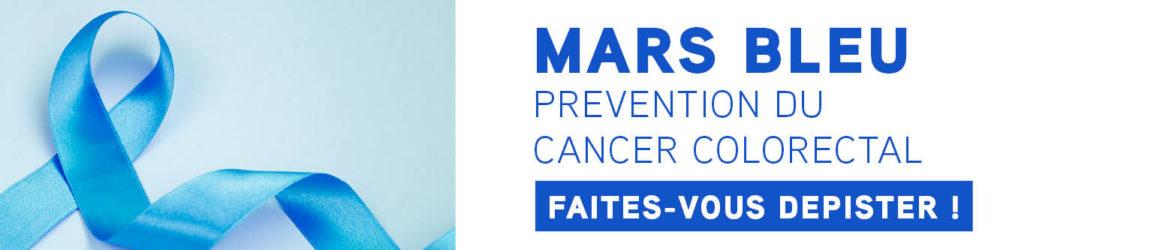 Mars bleu 2021 : mois de lutte contre le cancer colorectal