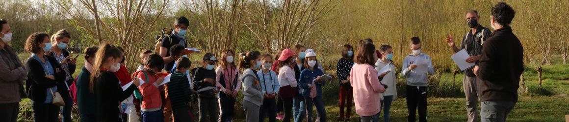 L'école du Bourg en sortie scolaire à la Cueillette Fabulette