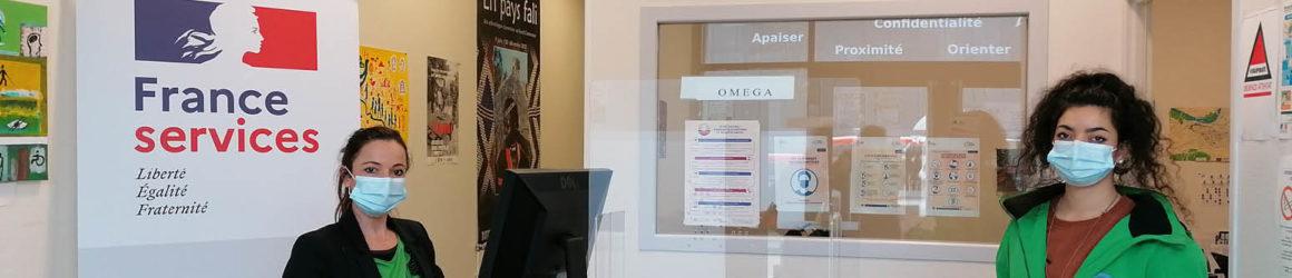 Une Maison France Services dans les locaux d'Oméga