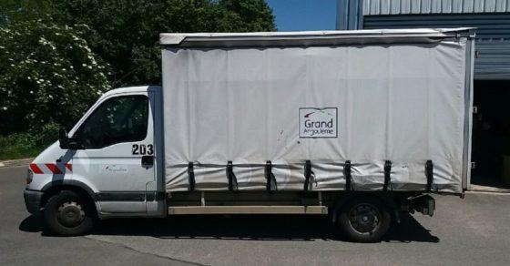 camion collecte encombrant