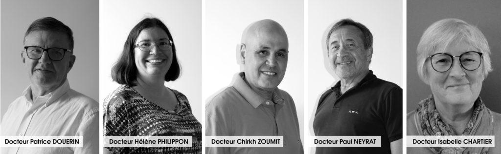 Portraits médecins