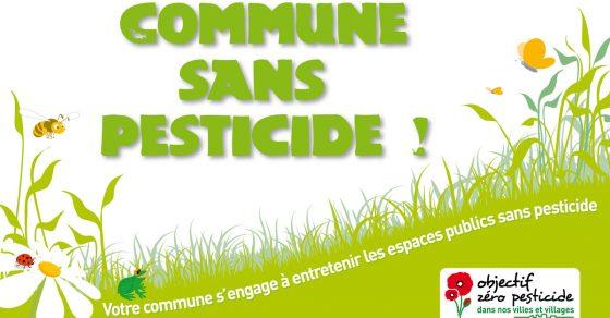 commune-sans-pesticide, charte Terre Saine, fleurs et nature