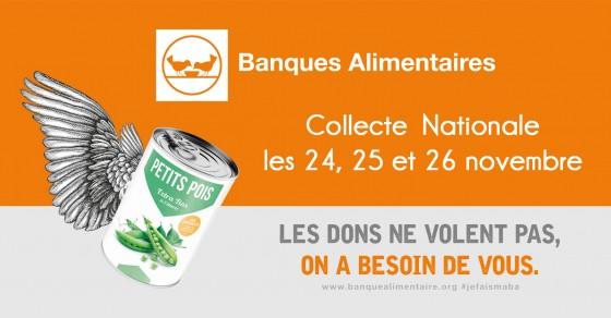 Banque Alimentaire - Collecte Nationale - Novembre 2017