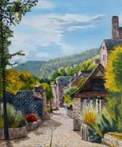 Frédéric Boirie ; village en montagne